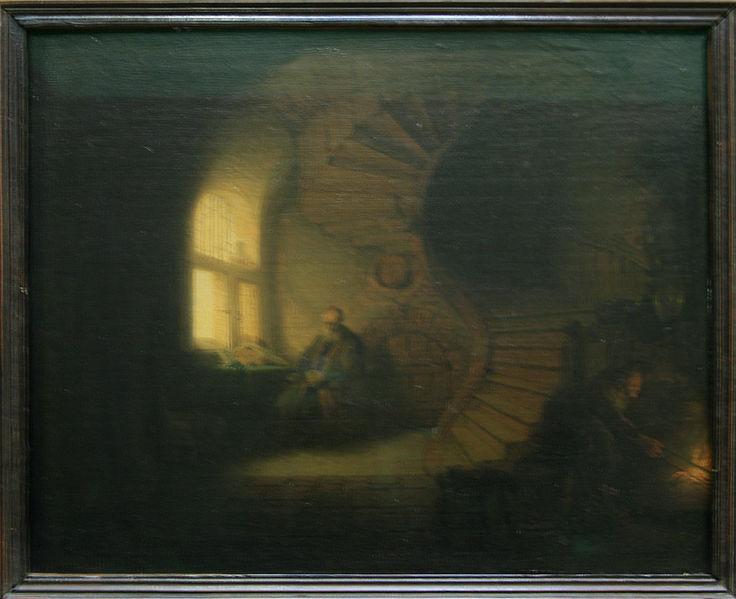 Fichier:Rembrandt-Philosophe en méditation-1632-Louvre.jpg