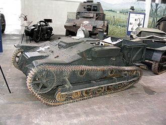 Renault UE Chenillette - Preserved UE 2 at the Musée des Blindés