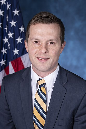 Jared Golden - Image: Rep. Jared Golden, official portrait, 116th congress
