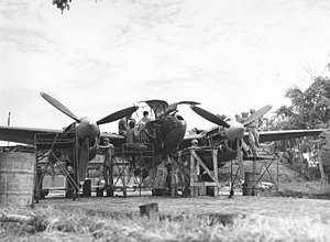 459th Flying Training Squadron - Repairs to P-38 by 459th Fighter Squadron at Chittagong, India – January 1945