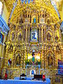 Retablo dorado de la iglesia de San Francisco Acatepec.jpg