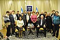 Reuven Rivlin hosted today a group of Holocaust survivors taking part in the Cafe Europa project in Jerusalem (1373).JPG