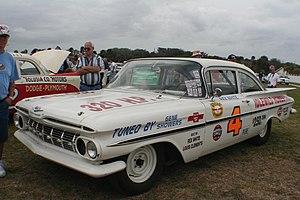 Rex White - Replica of White's 1959 NASCAR car