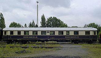 Schnellzug - Rheingold coach from 1928