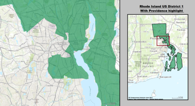 Rhode Island's 1st congressional district - since January 3, 2013.