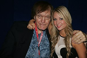 Richard Kiel - Kiel with professional wrestler Tenille Dashwood in June 2014