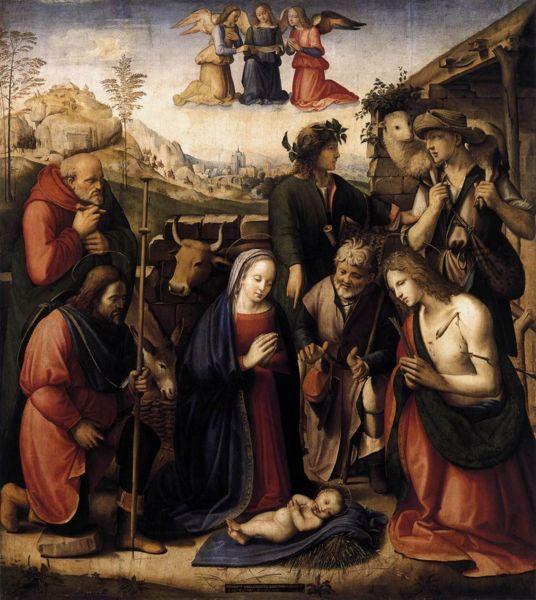File:Ridolfo Ghirlandaio - Adoration of the Shepherds.jpg