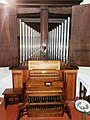 Rieti Santuario di Fonte Colombo organo Pinchi.jpg