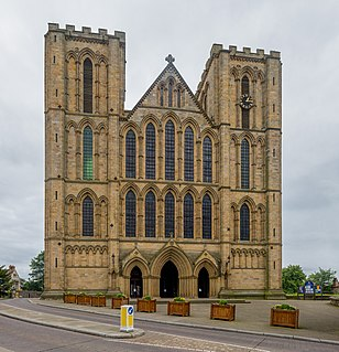 Ripon Cathedral Church in North Yorkshire, United Kingdom