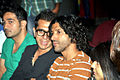 Ritesh Sidhwani, Farhan Akhtar at the Premiere of Ash Chandler's play at The Comedy Store 01.jpg