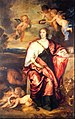 Ritratto di lady Venetia Digby come allegoria della prudenza - Van Dyck.jpg