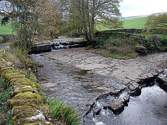 River Dee, Cumbria - The River Dee at Stone House