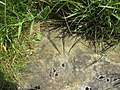 Rivet bench mark at Long Lane-Moor Head Lane junction - geograph.org.uk - 1452106.jpg