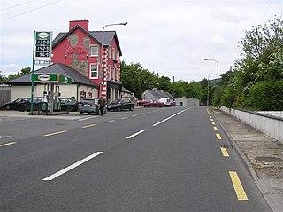 Glenfarne Village in Connacht, Republic of Ireland