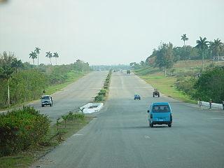 Hovedvei i Matanzas, Cuba