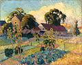 Robert Antoine Pinchon, 1912, Jardin en environs de Rouen, oil on canvas, 73 x 92 cm.jpg