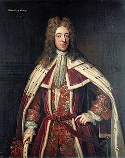 Robert Darcy, 3rd Earl of Holderness English noble