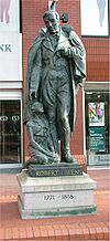 Robert Owen statue - Manchester - April 11 2005.jpg