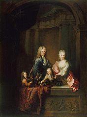 Portrait de la famille Maupertuis