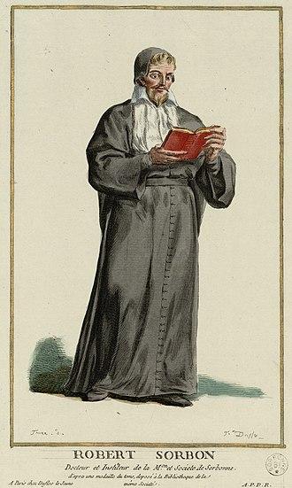 Bibliothèque de la Sorbonne - Robert de Sorbon