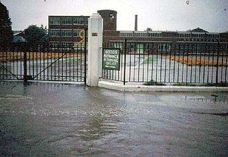 Great Flood of 1968 - Robertson's Jam factory