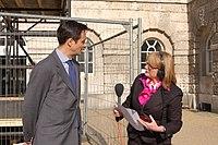 Robin Niblett with Carolyn Quinn on BBC R4 PM Programme (4565122413).jpg
