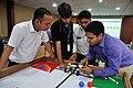 Robot Testing Session - Workshop on Organising Indian and World Robot Olympiad - NCSM - Kolkata 2016-03-08 2379.JPG
