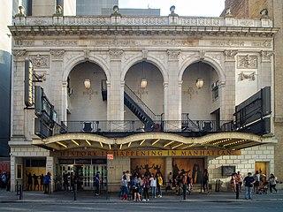 Broadway theatre in Manhattan, New York City, United States