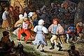 Roelant savery, contadini che danzano fuori da una taverna, 1610 ca. 02.jpg
