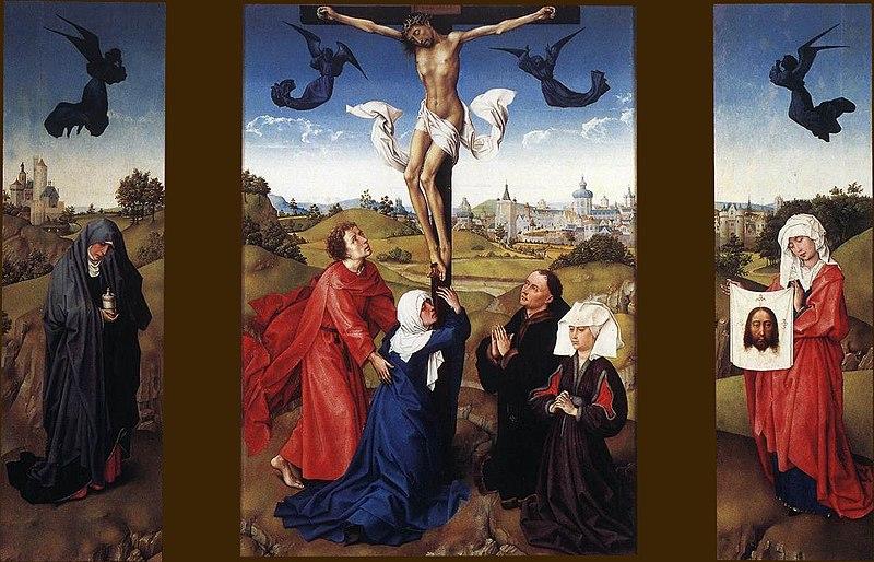 File:Rogier van der Weyden - Crucifixion Triptych - WGA25612.jpg
