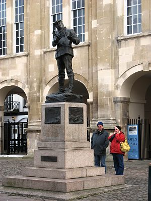 Statue of Charles Rolls, Monmouth - Statue of Charles Rolls