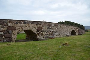Sant'Antioco - Image: Roman bridge, restructured and restored in medieval times, Sant'Antioco, Sardinia (16153128443)