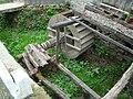 Romania Alba Geoagiu de Sus water mill wheel 4.jpg