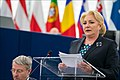 Romanian Council presidency MEPs expect focus on budget and future EU (31812052757).jpg