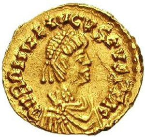 Romulus Augustulus - Tremissis of Romulus Augustus