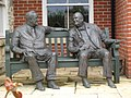 Roosevelt and Churchill in conversation - geograph.org.uk - 875991.jpg