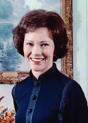 Rosalynn Carter - Image: Rose Carter, official color photo, 1977 cropped