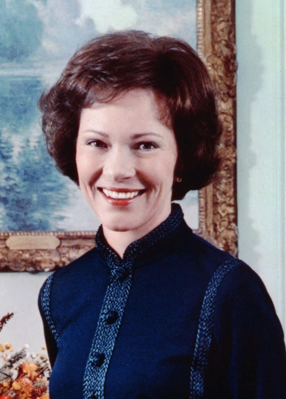 Rose Carter, official color photo, 1977-cropped