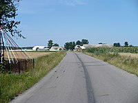 Rostki - View from the side of the village Stylagi.JPG