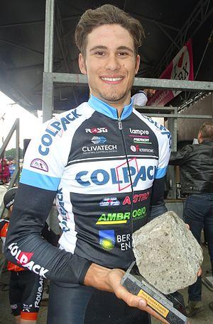 Filippo Ganna - Image: Roubaix Paris Roubaix espoirs, 29 mai 2016, arrivée (B14)