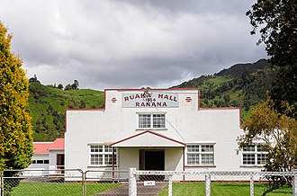 Ranana - The Ruaka Hall at Ranana, Whanganui River, New Zealand