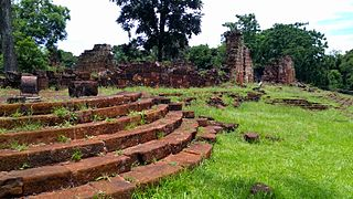 historic Jesuit mission in Misiones Province, Argentina