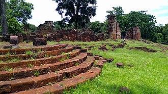 Nuestra Señora de Santa Ana - Image: Ruinas Santa Ana Colegio Iglesia 02