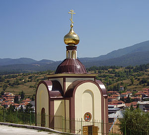 Batak, Bulgaria - The Russian church in Batak.
