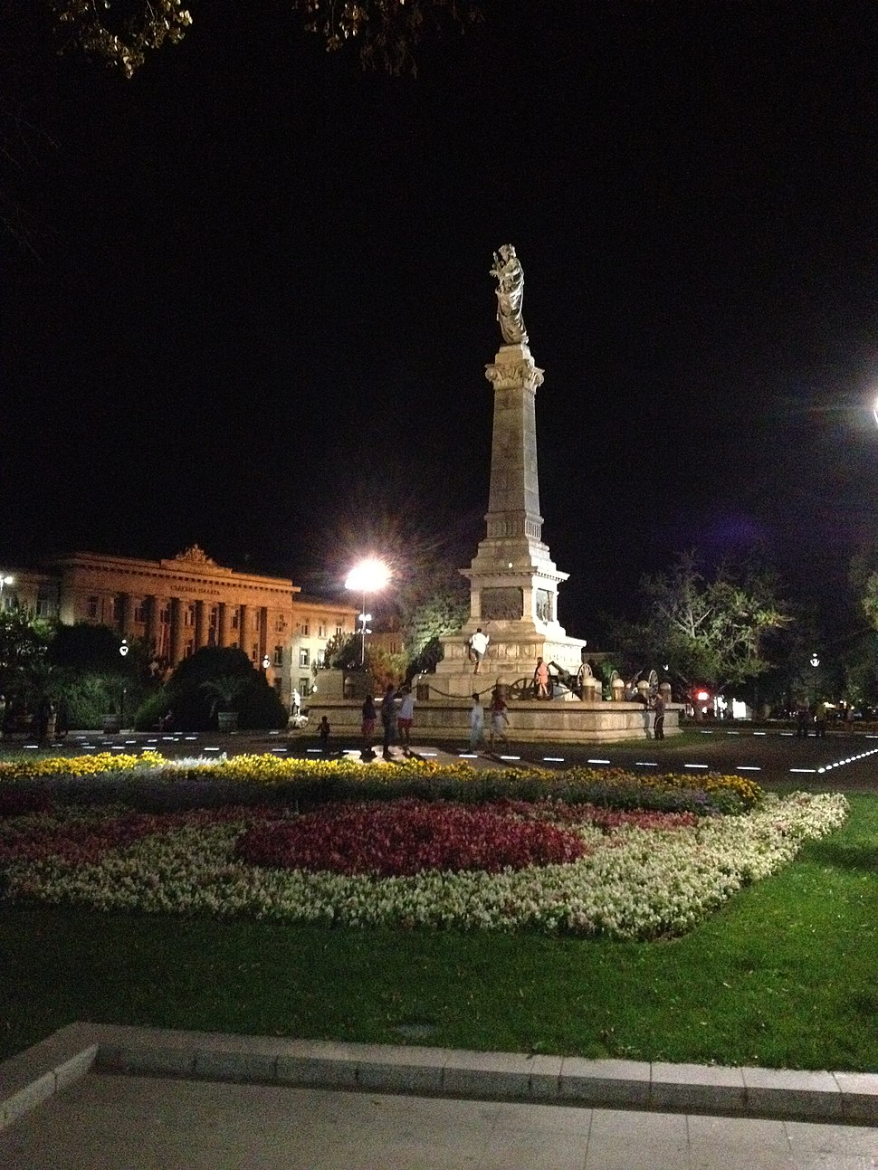 Ruse monument of liberty