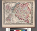 Russia in Europe, Sweden, and Norway; Map of Denmark; Map of Holland and Belgium. NYPL1510828.tiff