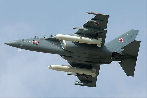 Russian Air Force Yakovlev Yak-130 Pichugin
