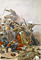 Russo-French skirmish during Crimean War