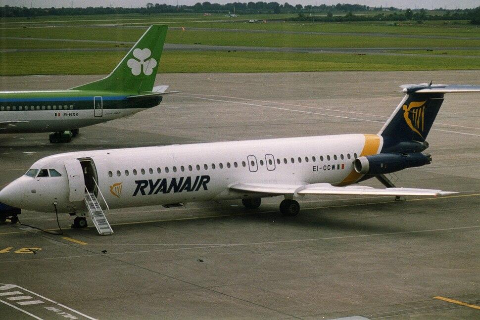Ryanair (EI-CCW), Dublin, July 1993
