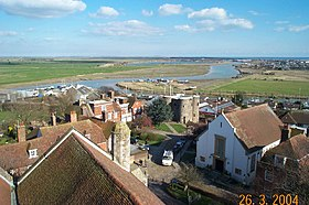 Rye from the tower of St Mary's Church (2) - geograph.org.uk - 64325.jpg